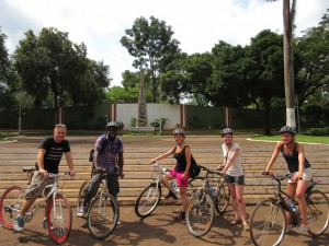 bicycle tours Uganda