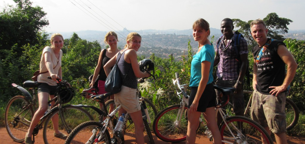 bike tour, kampala