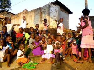 slum, Kampala, 7Senses, action research